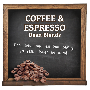 COFFEE & ESPRESSO Bean Blends